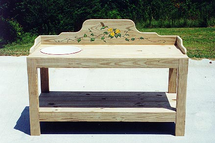 Excellent Potting Bench Plans Free  Free Outdoor Plans  DIY Shed
